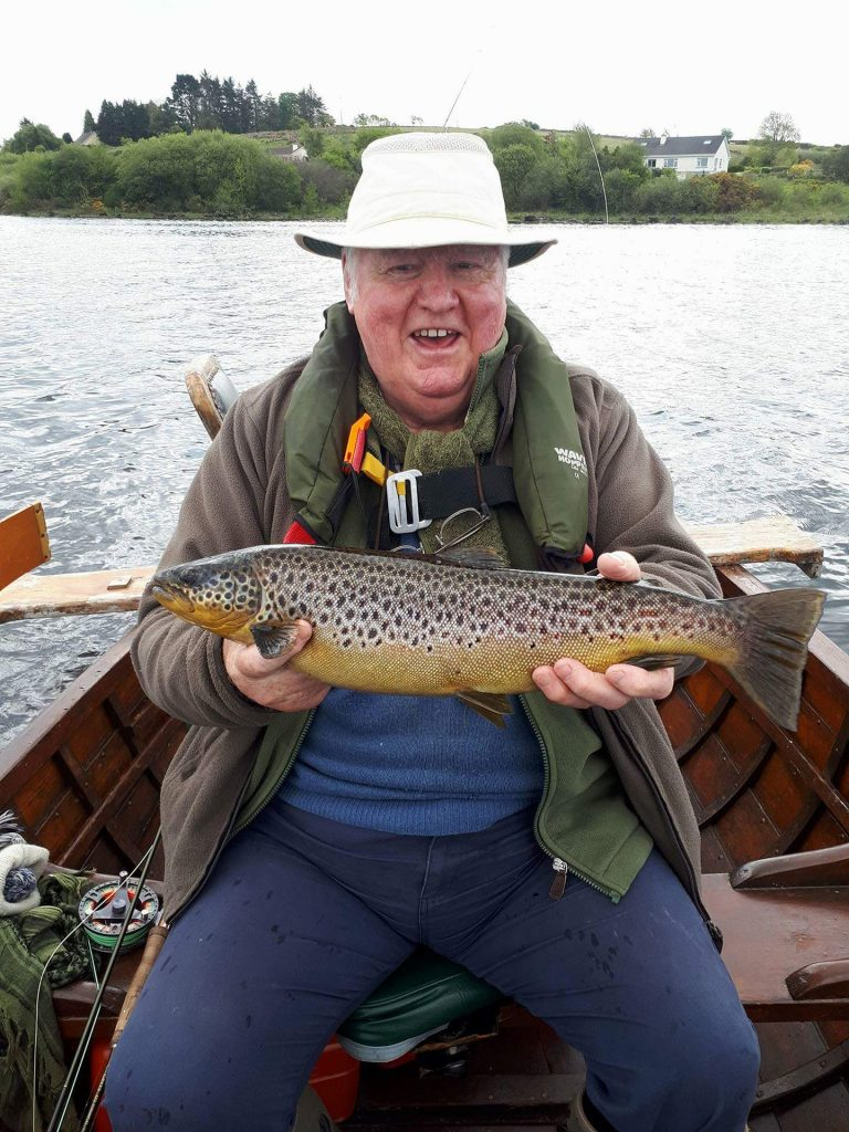 Mark Conroy mit einem schönen Fisch
