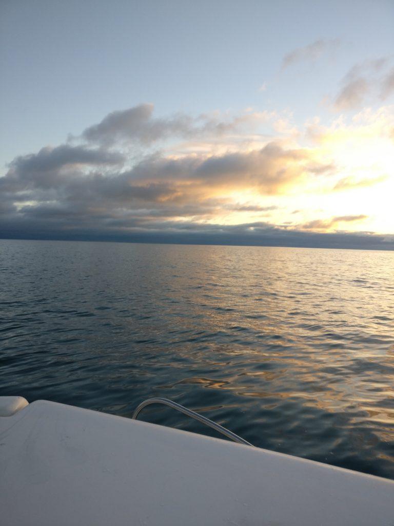 Sonnenaufgaang aud der irischen See