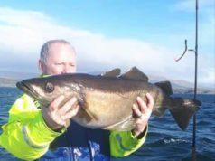 Fantastisch, erste Ausfahrt und schon ein so großer Fisch.
