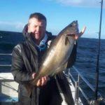 Was für ein Bauch, noch ein wohlgenährter Pollack aus der Donegal Bay